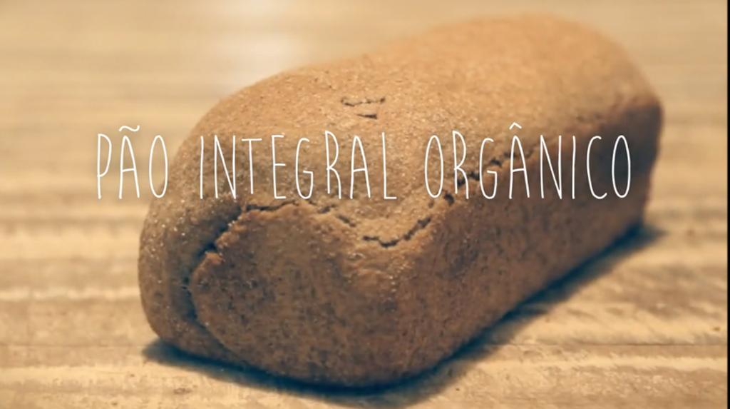 Receita de Pão Integral Orgânico